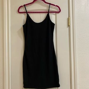 Fashion nova Black mini dress
